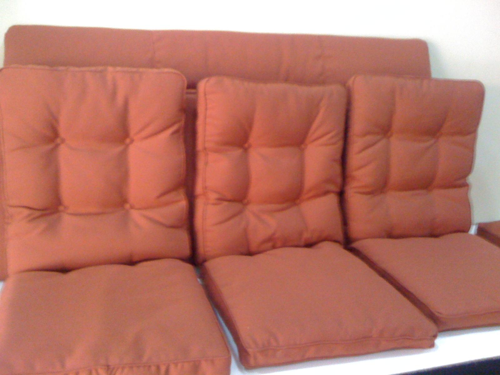 Tapizado de cojines para sillas de exterior tapizados - Cojines redondos para sillas ...